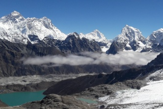 Everest, lac Gokyo et Island Peak